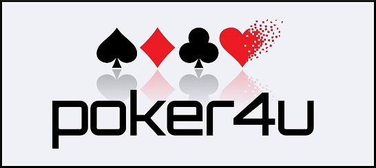 poker4u – ALL ABOUT POKER Logo
